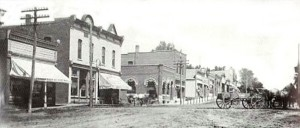 Downtown Snyder 1910